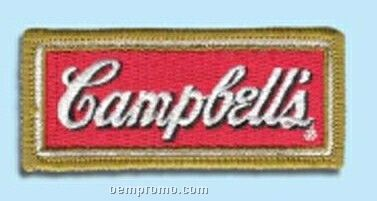"""2 1/2"""" Embroidered Emblem W/ 75% Thread Coverage"""