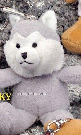 "4"" Keychain Pals Husky Dog"