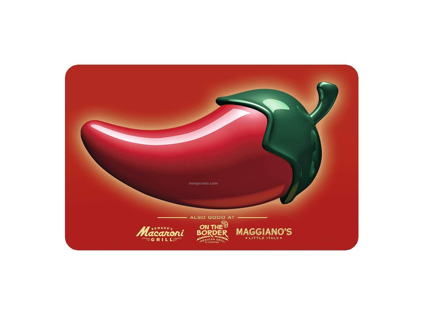 / Other Restaurant Digital Gift Cards & eGift Cards (Email Delivery) Macaroni Grill $50 eGift Card Average rating: 0 out of 5 stars, based on 0 reviews Write a review.