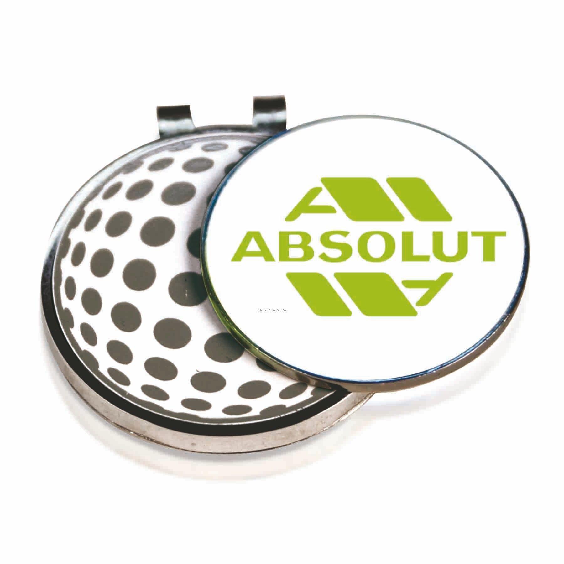 Mini Golf Clip W/ Round Marker