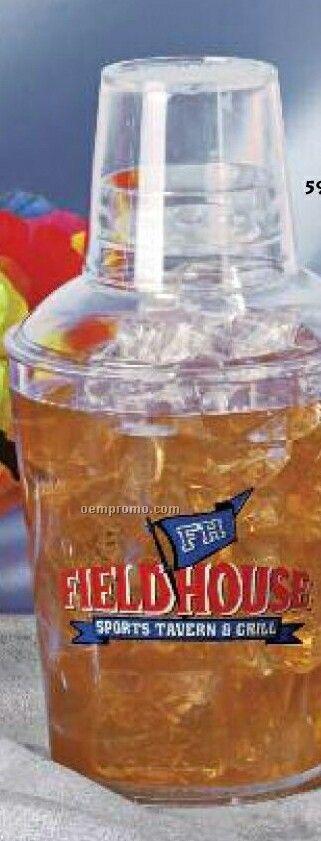 18 Oz. Plastic Shaker Cup