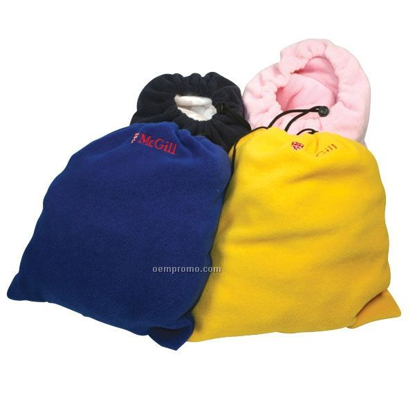 "Fleece Blanket Bags / 14""X16"""