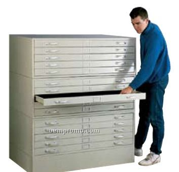 "Stackable 5-drawer 20"" High Cabinets - 78""X47"""