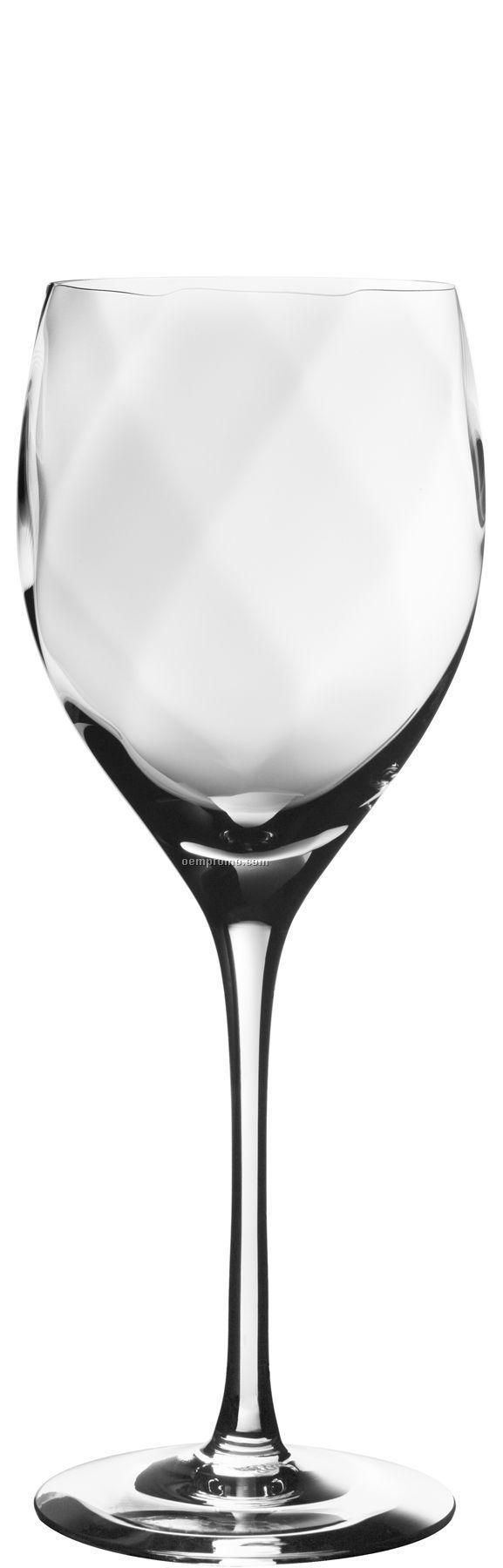 "Chateau Crystal Wine Xl Stemware By Bertil Vallien (8 1/2"")"