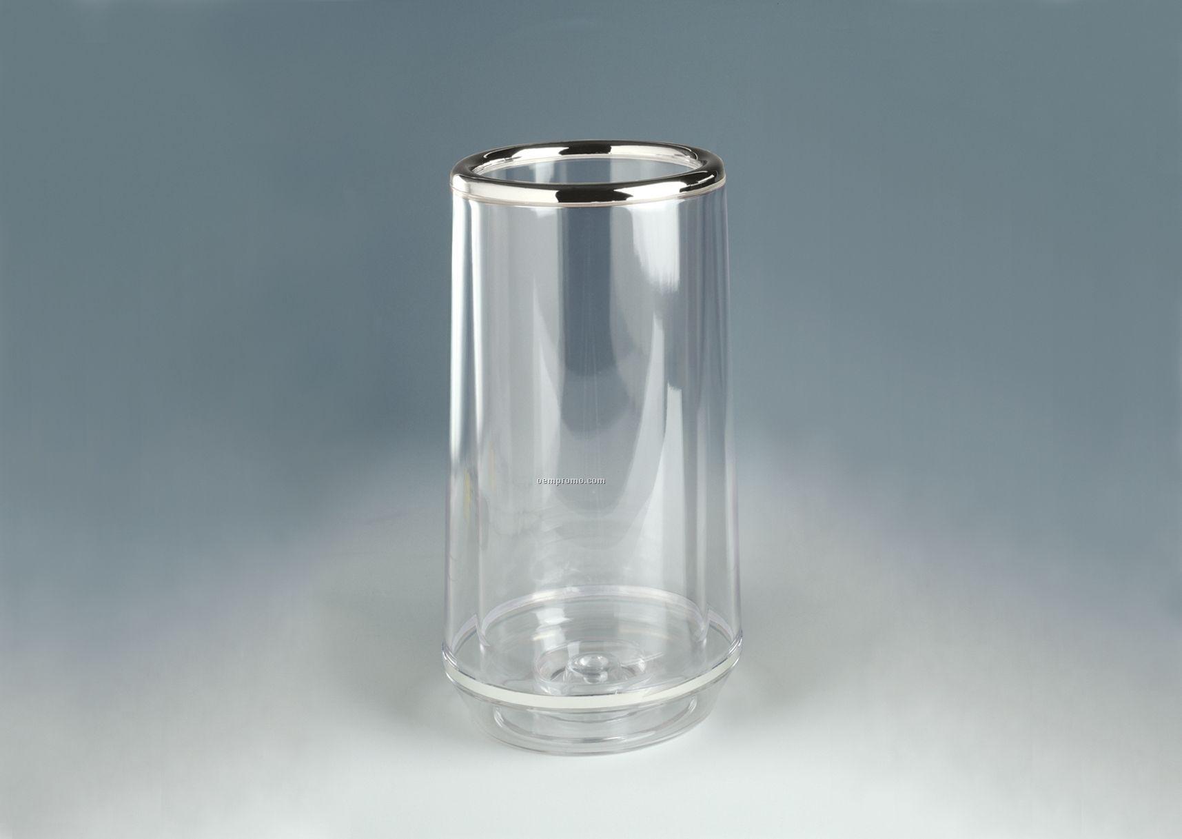 Chrome Trim Freddo Thermal Clear Wine Cooler