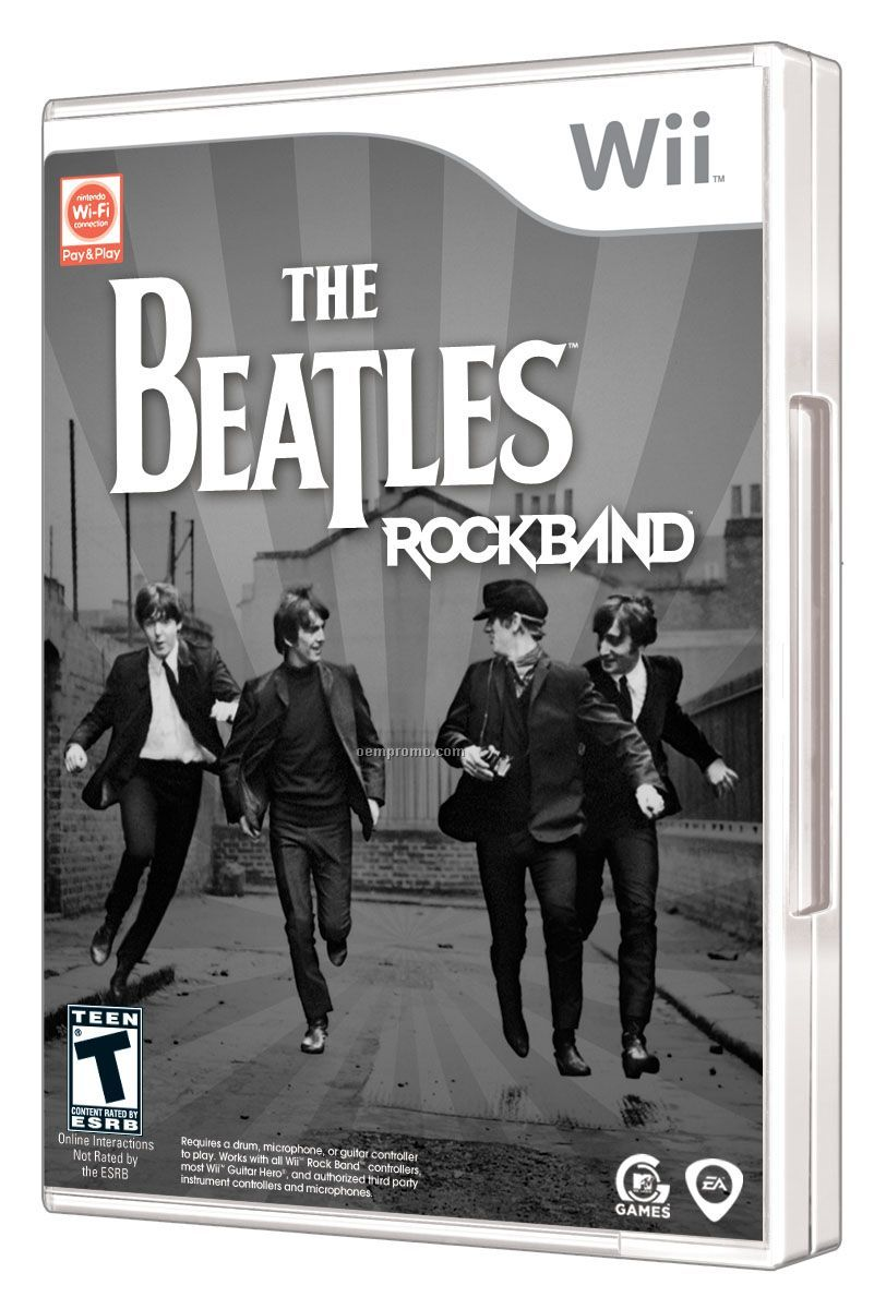 Ea The Beatles: Rock Band For Nintendo Wii