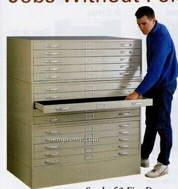 """Stackable 5-drawer 15 3/8"""" High Cabinets - 40 3/4""""X28 3/8"""""""
