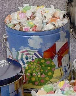 1/2 Gallon Designer Pail W/ Nostalgia Candy Mix