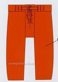 Adult Football Uniform Pants - Solid Color