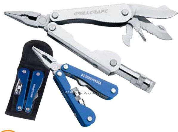 Multi-function Pliers With Flashlight