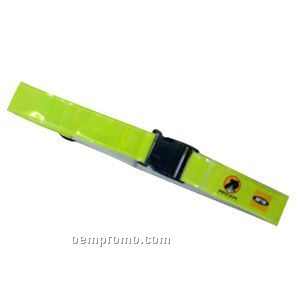 Reflective Tape. With Buckle Close, Adjustable Size For Both Straps