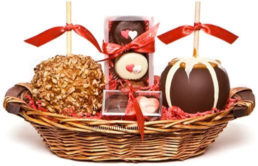 Small Valentine's Gift Basket