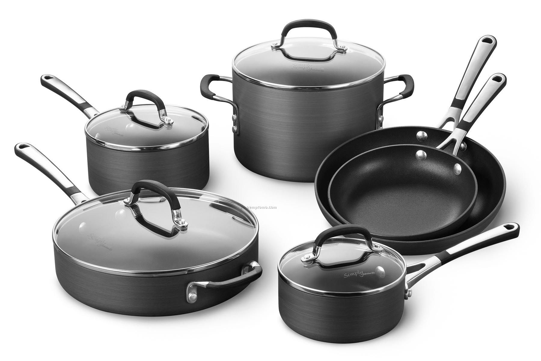 Calphalon 10 Piece Simply Calphalon Nonstick Cookware
