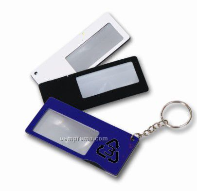 Magnifier Key Chain