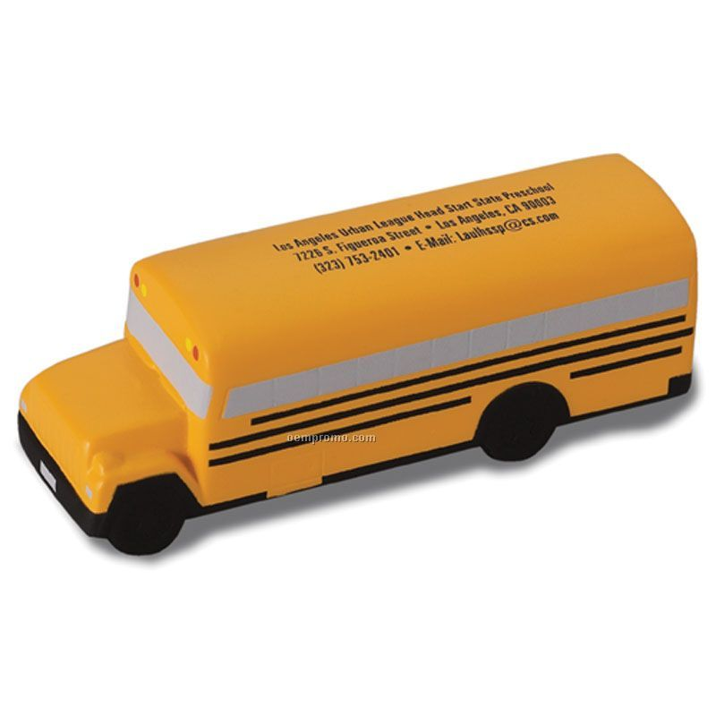 School Bus Squeeze Toy