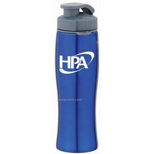 28 Oz. Stainless Steel Flip Top Bottle