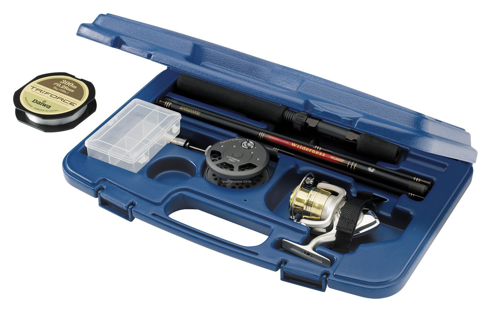 Daiwa Sweepfire Executive Rod & Reel Travel Pack In Hard Case (Fly Reel)