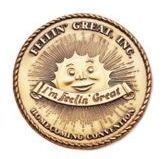 """Die Cast Zinc Coin (1-1/2"""")"""