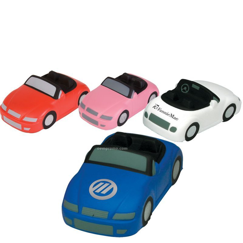 Sports Car Squeeze Toy