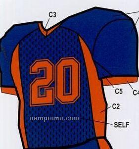 Youth Custom Football Uniform Jersey W/ Side Dazzle