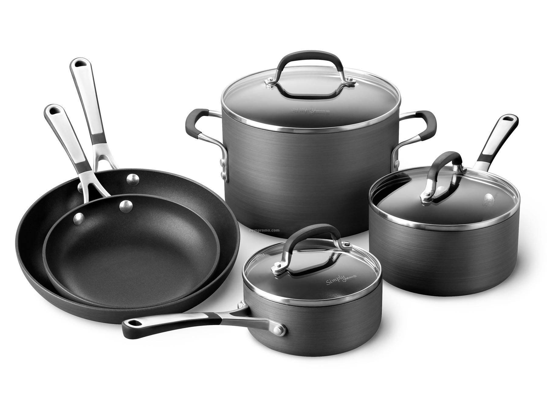 Calphalon 8 Piece Simply Calphalon Nonstick Cookware China