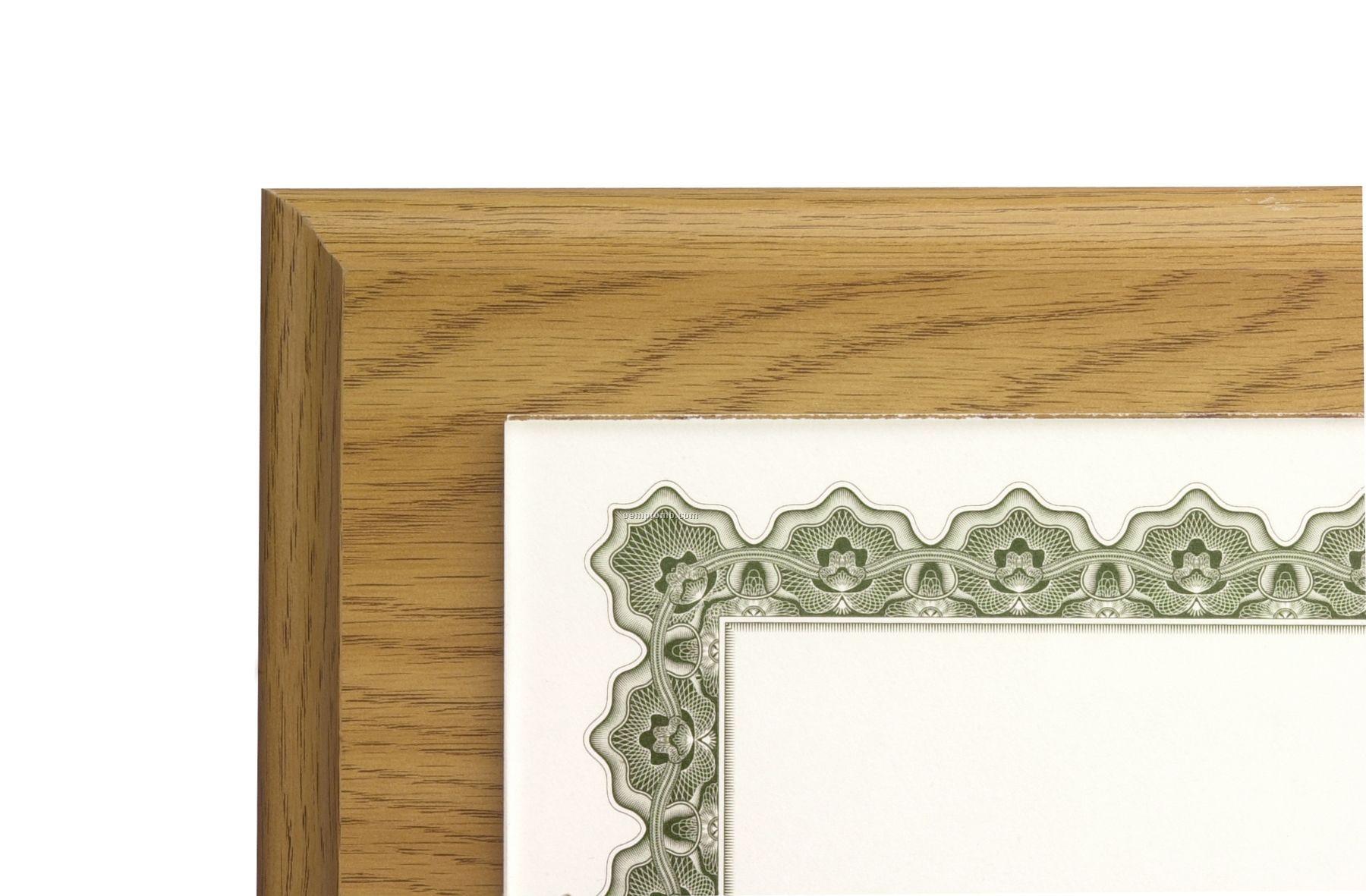 Oak Composite Economy Slide-in Style Plaques