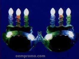 LED Birthday Cake Eyeglasses