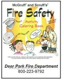 Mc Gruff And Scruff's Fire Safety Activity Coloring Book