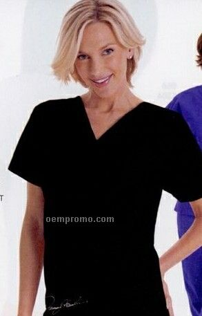Nascar #11 V-neck Scrub Top (Xs-3xl)