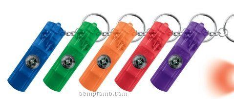 Whistle Key Light W/ Compass