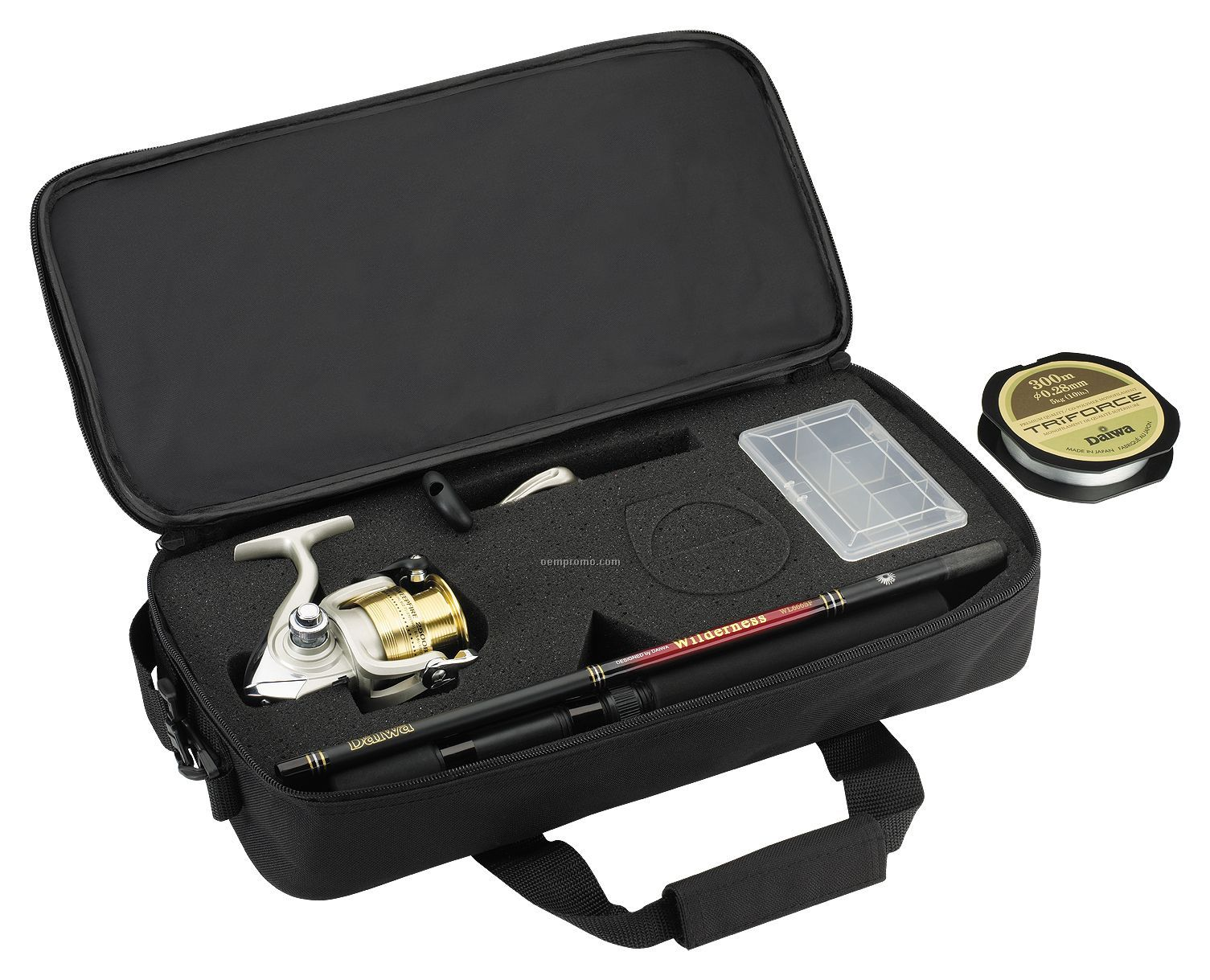 Daiwa Sweepfire Executive Rod & Reel Travel Pack In Soft Case