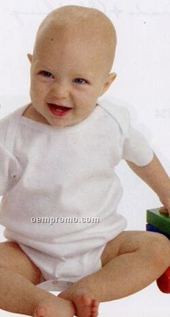 Infant Lap Shoulder Bodysuit - (Lights) Embroidery