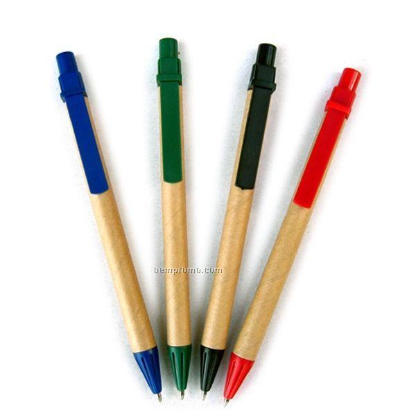 Recycled Kraft Paper Pen