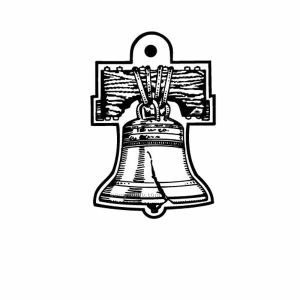 Stock Shape Collection Liberty Bell Key Tag