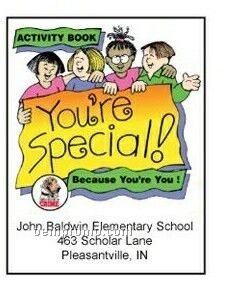 You're Special Activity Coloring Book
