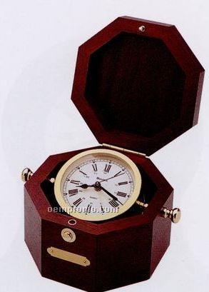 Quartermaster Alarm Clock - Maritime