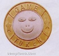 """Custom Stamped Coins - 1"""""""
