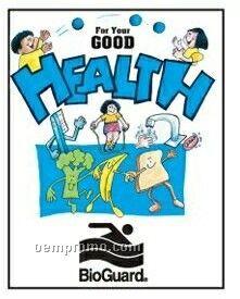 Good Health Activity Coloring Book