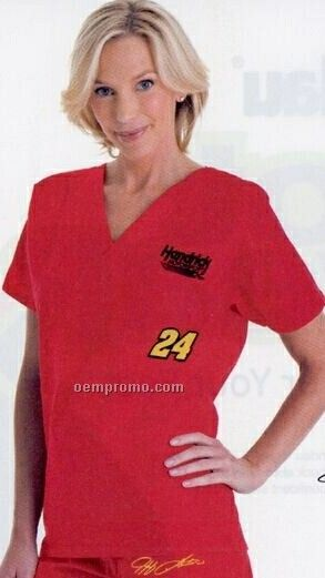 Nascar #24 V-neck Scrub Top (Xs-3xl)