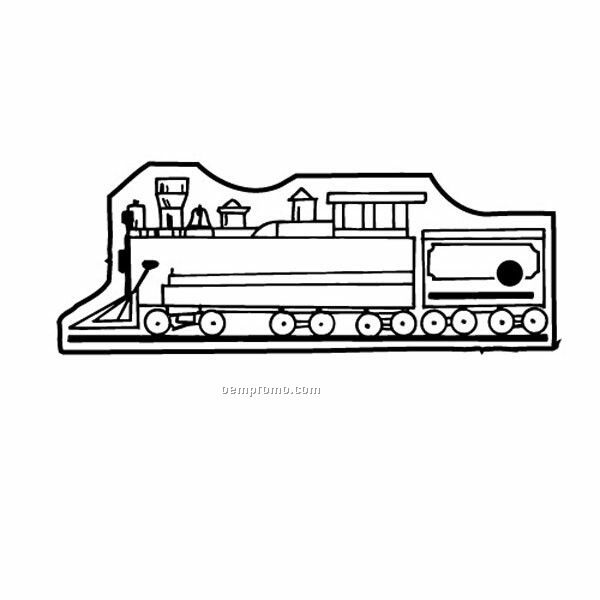 Stock Shape Collection Antique Train 2 Key Tag