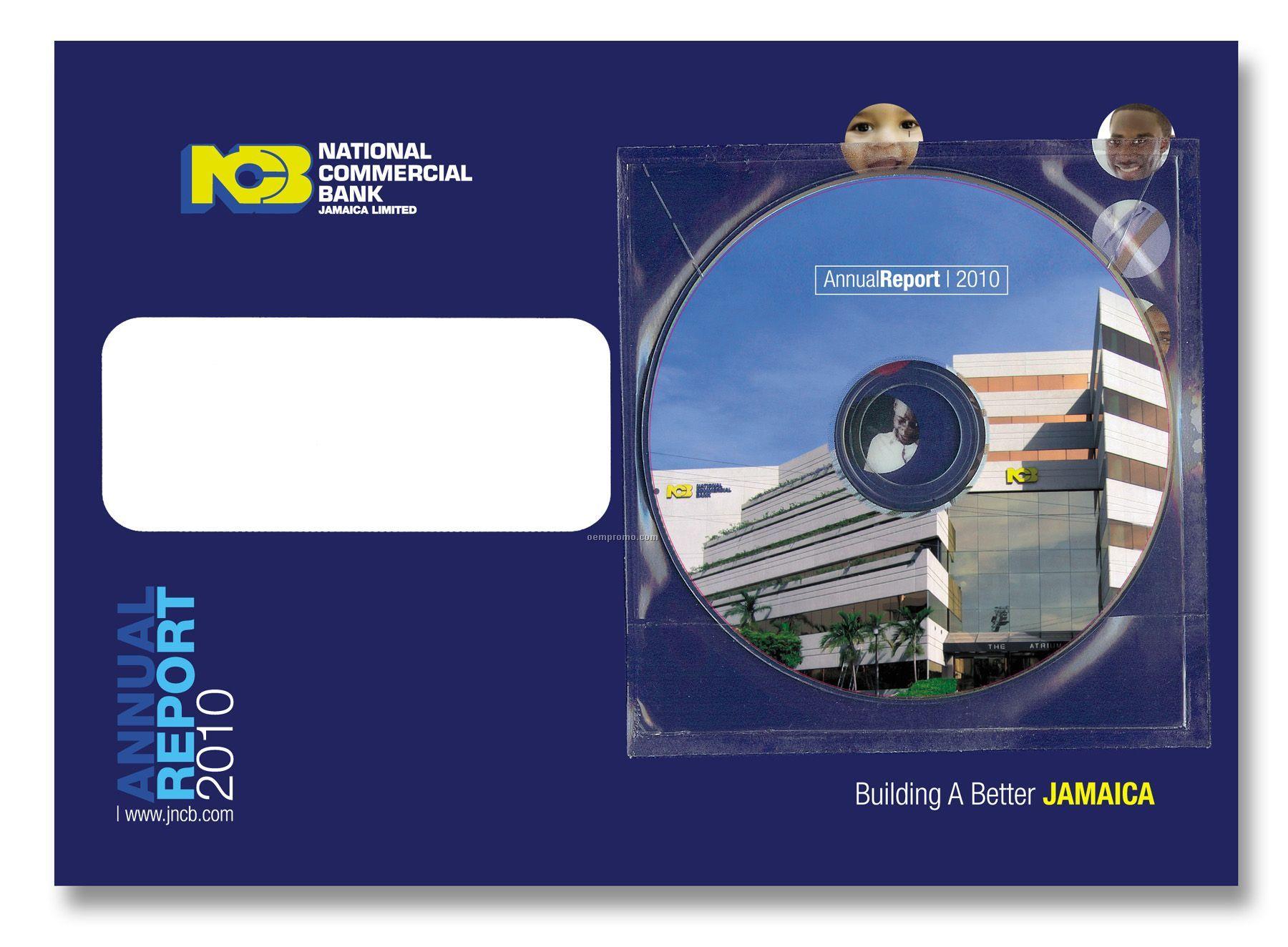 """Emedia Post Card, 4"""" X 6"""" With Flex Mini DVD"""