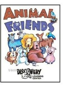 Animal Friends Activity Coloring Book