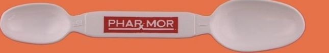 """Pharmaceutical Twin Spoon Rx - 1 Color (5 3/4"""")"""