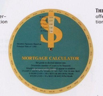 Stock Guide Wheel - The Mortgage Calculator