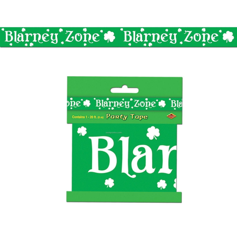 """Blarney Zone"" Party Tape"