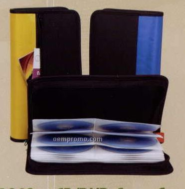 CD/DVD Leatherette Carry Case (48 Capacity)