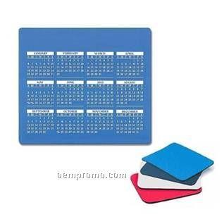 Promotional Mousepad With Calendar