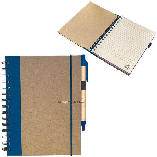 "Recycled Cardboard Notebook (14.5""X12""X3"") (Blank)"