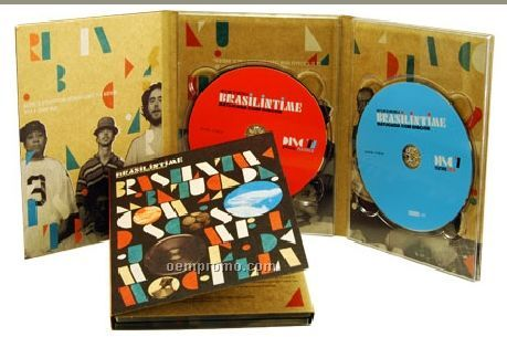 DVD Replication In 6 Panel Dvd-sized Digipak (DVD 9)
