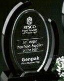 "Sable Gallery Crystal Callaway Award (8 1/2"")"